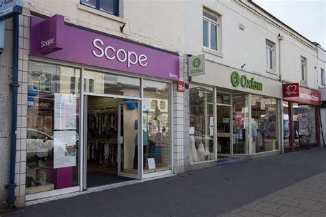 shops uk charity shops up by a third on britain s high streets