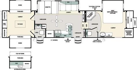 bunkhouse fifth wheel floor plans northside rvs