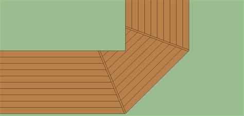 wrap around deck plans framing wrap around deck with a 45 corner decks