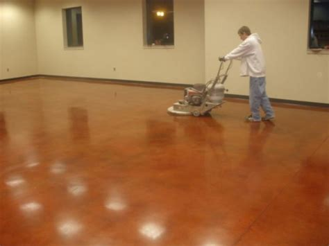 Floor Burnisher by Gallery Titan Concrete Omaha Ne