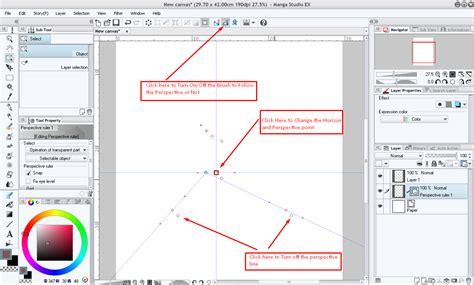 paint tool sai rulers how to clip studio paint clip studio net