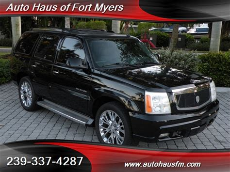 Cadillac Of Fort Myers by 2006 Cadillac Escalade 4x2 Ft Myers Fl For Sale In Fort