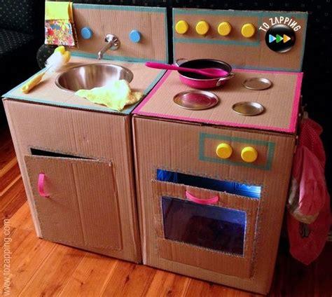 juegos de cocina con bebes c 243 mo hacer una cocina con cajas de cart 243 n juego de cocina