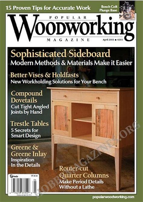 popular woodworking books popular woodworking 203 april 2013 187 hobby magazines