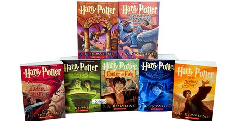 harry potter books pictures get the complete harry potter book collection for 43