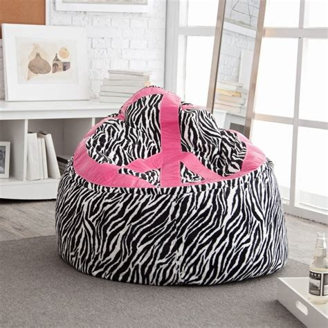 Bean Bag Chairs For Tweens by 17 Best Images About Zebra Bean Bag Chair On
