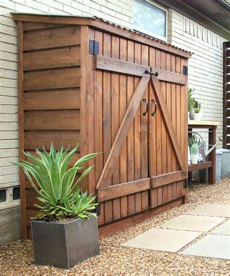 small garden storage ideas 24 ingenious and practical diy yard storage solutions