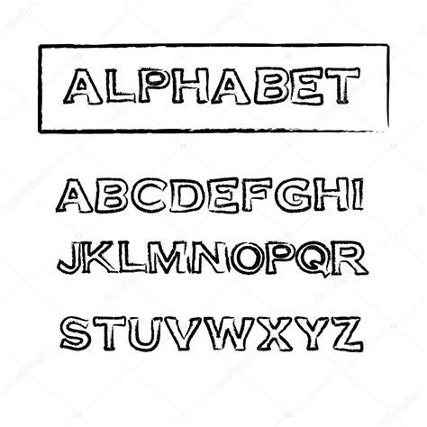 rubber st font with border raz 237 tko vintage obrysov 233 p 237 smo vektorov 233 p 237 smo stock