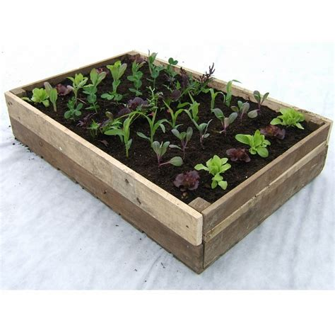 outdoor wooden planters traditional wooden crate planter rocket gardens