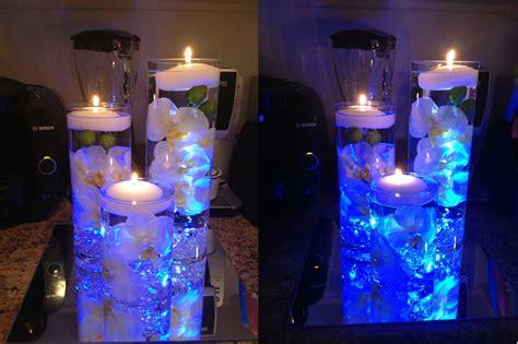 centerpiece water waterfall centerpiece reveal weddingbee