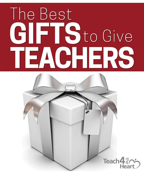 for to give as gifts the best gifts to give teachers ones they won t regift