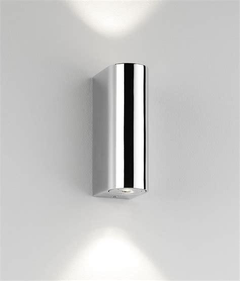 chrome bathroom wall lights polished chrome led bathroom wall light