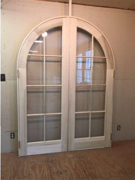 interior archway doors wood custom arched top doors jim illingworth millwork llc