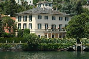george clooney home lake como mingle with the caesars and the