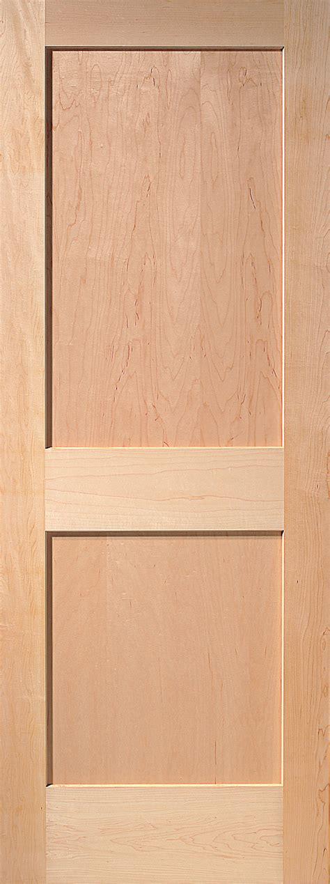 maple interior door 2 panel maple interior door