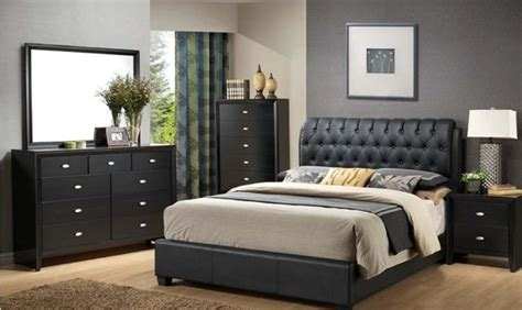 houzz bedroom furniture casa blanca cb2200 5 pcs black bedroom set traditional