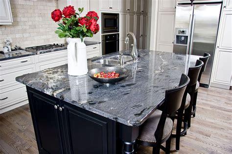 White Kitchen Island With Natural Top granite countertops calgary quartz dauter stone inc