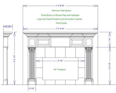fireplace mantel woodworking plans pdf diy plans for wood mantels plans for