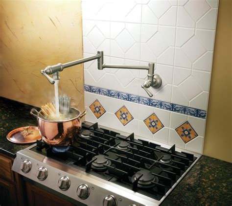 kitchen sink displays moen s664csl pot filler two handle wall mount kitchen