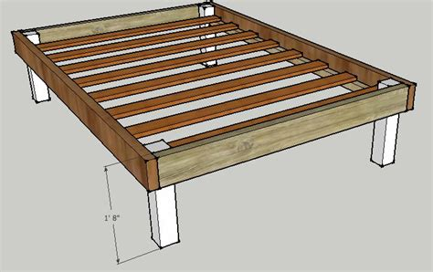 how to make a king bed frame 17 best ideas about diy bed frame on diy bed