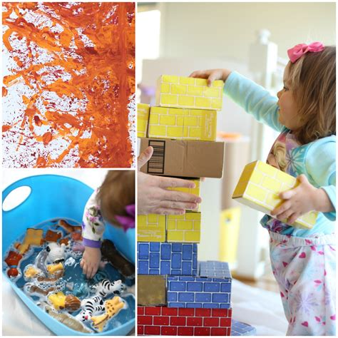 indoor crafts for 31 days of indoor for toddlers i can teach my child