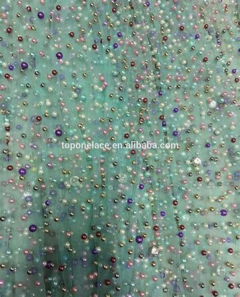 beaded fabric wholesale moq 5 yard wholesale sale beaded lace machine