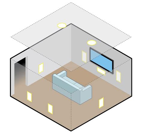 in ceiling speakers installation in wall and ceiling speaker placement and installation