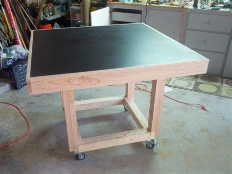 woodworking assembly table new assembly table by paul lumberjocks