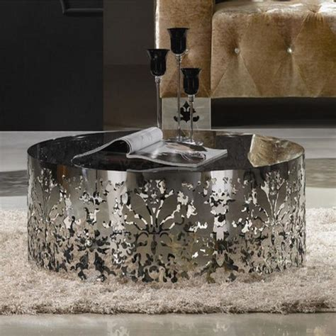 stainless coffee table 10 superb stainless steel coffee table designs rilane