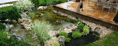 koi pond backyard fish supplier landscape design
