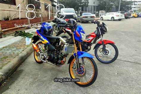 Thailook Style Modifikasi by 40 Foto Gambar Modifikasi Motor Sonic Racing