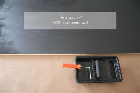 blackboard paint mdf do it yourself mdf magnetic chalkboard wall see
