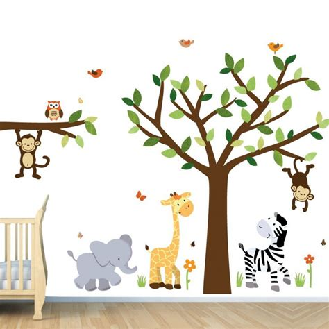 wall decals for nurseries decorating kid s room with interesting wall decals