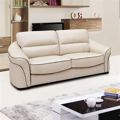 ivory leather sofa longdon pale ivory leather sofa collection with