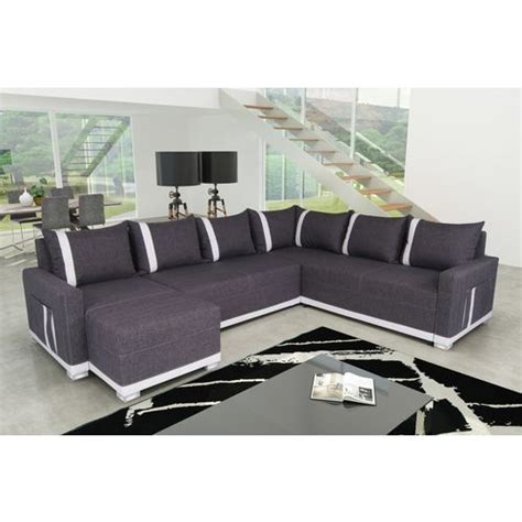 sofa story canap 233 d angle convertible 6 places light