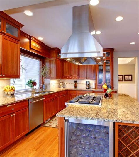 kitchen island with stove top 25 spectacular kitchen islands with a stove pictures