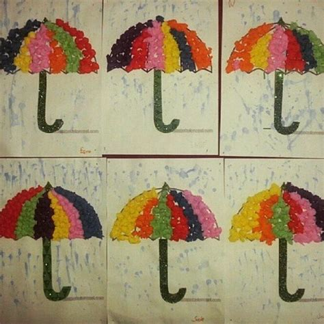 umbrella craft ideas for umbrella craft idea for 1 march preschool weather