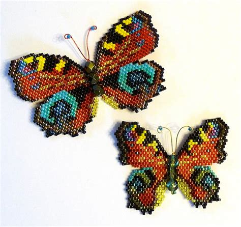beaded butterfly pattern butterfly beader the of rushbrooke