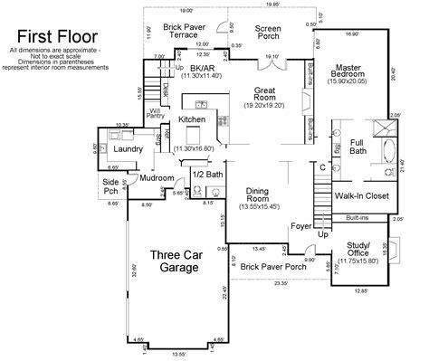 House Floor Plan Measurements floor plan with measurments in nigeria joy studio design