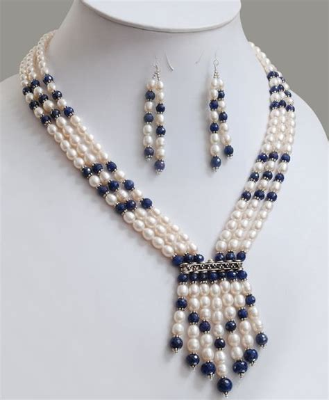 pearl bead necklace best 25 beaded necklaces ideas on necklace