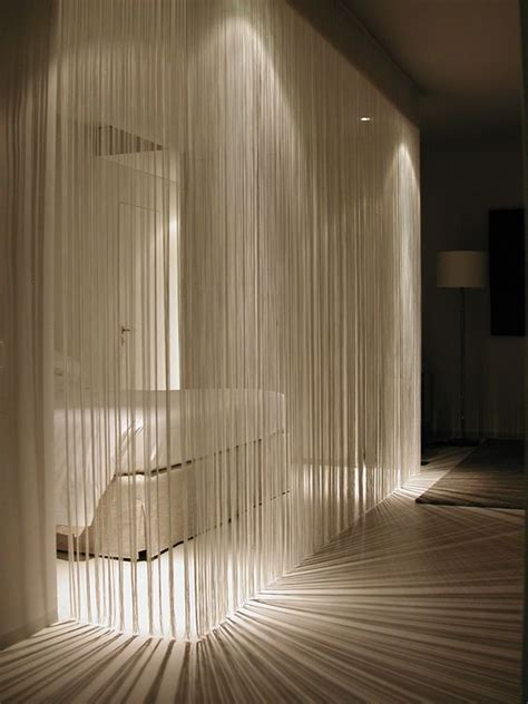 room dividers curtains 25 ways to use curtains as space dividers digsdigs