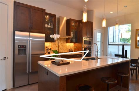 kitchen triangle design designing an open kitchen on point custom homes