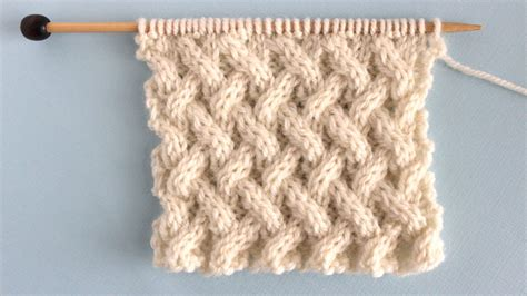 knitting cables tutorial how to knit the lattice cable stitch pattern studio knit