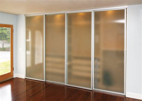 sliding doors for closets sliding closet doors frosted glass