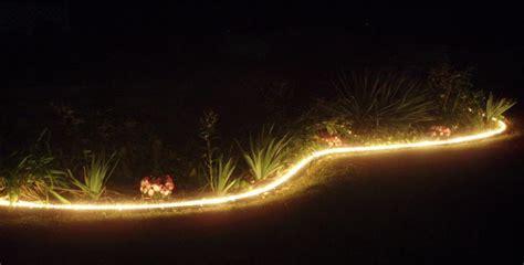 landscape rope lighting landscape rope lighting illumiclip 174 rope light