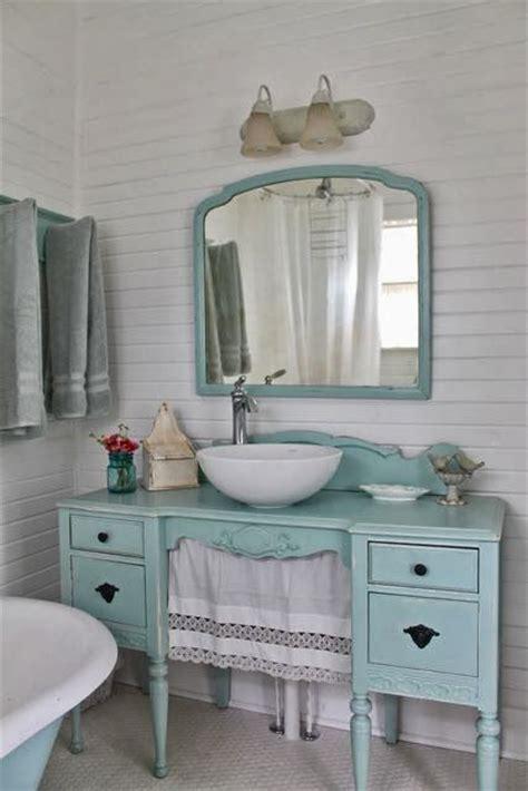 vintage small bathroom ideas rinnovare il bagno con un vecchio mobile