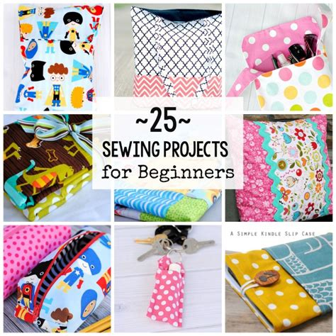 projects for beginners 25 beginner sewing projects