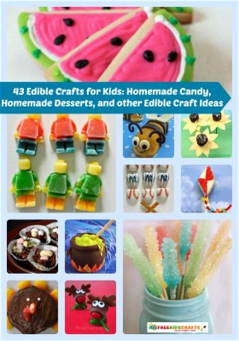 edible kid crafts 76 edible crafts for