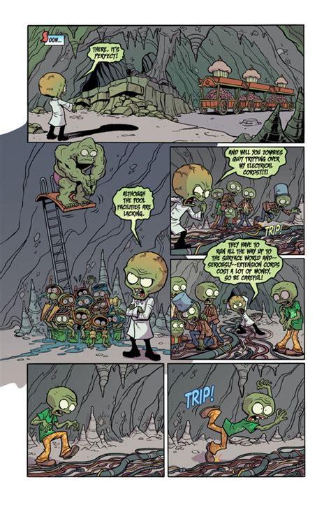 plants vs zombies volume 6 boom boom plants vs zombies 10 boom boom part 1