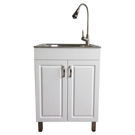 kitchen sink and cabinet utility sinks for laundry laundry sink with cabinet rona
